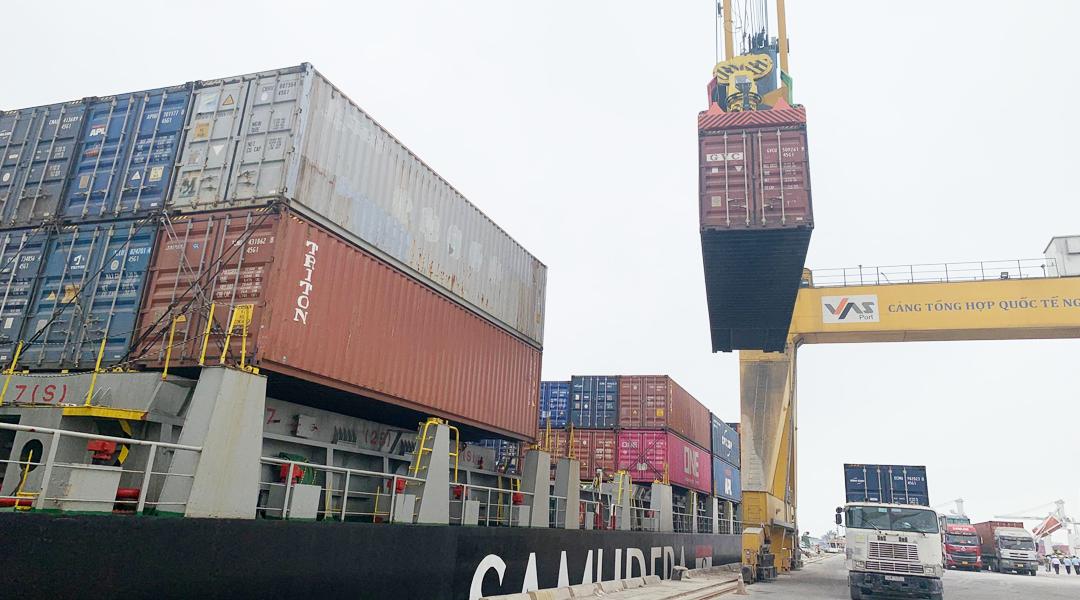 Ảnh 3 - Dịch vụ cảng - Xếp dỡ container